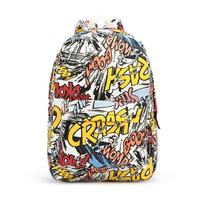 children school bag student school backpack travel bag for women & men canvas printing backpacks women casual daypacks B002