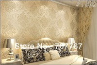 modern style  classic non woven wallpaper for room with free shipping