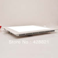 15pcs/Lot 16W square led panel lighting SMD2835x80LEDs warm white/cold white recessed led ceiling lamp down lights free shipping