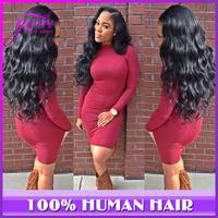5a Ms Lula Peruvian Virgin Hair Body Wave 3pcs 4pcs lot Bele Virgin Pruvian Hair Luvin Rosa Hair Products Human Hair Weaves Wavy