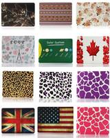 "Wholesale Rubberized Hard Skin Case Cover for Macbook Pro 13.3""15.4"" A1278 A1286 12 Unique Design Fashion Flag/Leopard"