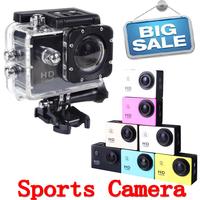 Sport mini Action Camera Diving 30Meter Waterproof Camera1080P Full HD SJ4000 Helmet Camera Underwater Cameras Sport DV Car DVR