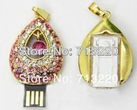 8GB Fashion Cute Angels Tears Crystal USB 2.0 DriveS 4GB Memory Flash 16GB Pendrives 32GB Capacity Brand New Free Shipment