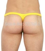 Brand Joe Snyder U-BAG DESIGN Bikini Sexy Men's Thong Underwear-Low-Rise Nylon T-Back Underwear- Sexy Mens Thongs G strings