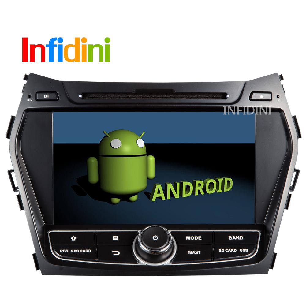 Pure Android 4.2 dvd gps for Hyundai IX45 Santa fe 2013 3g WiFi +Capacitive Screen +radio bluetooth+Wifi Adapter gift(China (Mainland))