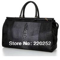 CROCODILE PATTERN WOMEN BAG,crocodile female handbag,travel duffel bags,designer duffle bag,traveling luggage,duffle bag men