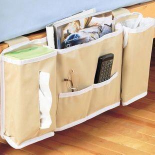 Multifunctional ofhead tissue remote control storage bag magazine storage bag storage organize bags fabric(China (Mainland))