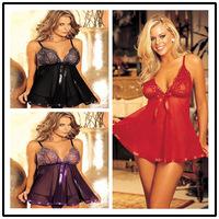Plus size lingerie women Sexy lingerie hot baby doll,erotic sleepwear,sexy lace dress, MLXL2XL3XL4XL Free Shipping