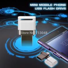 New mini Aluminum Flash drive OTG Smart phone 8GB 16GB 32GB 64GB USB USB Flash Drive Micro USB Flash Drive U Disk(China (Mainland))