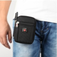 Swiss army knife male small waist pack sports  for apple   mobile phone protective case bag canvas strap coin purse