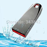 Genuine capacity keyring Waterproof Mini Tiny sliver usb flash drive 8GB 16GB 32GB USB 2.0 Flash Memory Stick 64G DrivePenDrives