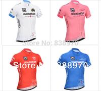 New 2014 Tour de Italy Cycling Jersey bike Short Sleeve and bicicleta bib shorts  / ropa ciclismo clothing mtb men  !
