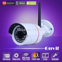 Mini IP camera wireless Outdoor HD 1920*1080P P2P 24IR light Night Vision SONY Sensor CCTV Security WIFI Camera With Bracket