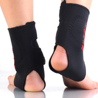 3 pcs(1 pair ankle +1 neck)Tourmaline self-heating ankle support thermal magnetic therapy Massage health care