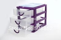 Wholesale free shipping,mini plastic drawer storage cabinet ,storage box, cosmetic box, jewelry box