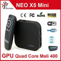 MINIX NEO X5 Mini RK3066 Dual Core Android 4.1 Cortex-A9 1.6GHz 1GB RAM 8GB ROM Wifi RJ45 HDMI XBMC Google Smart TV Box