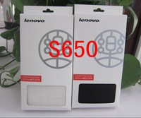 High quality leather case Lenovo S650 S650 cover case Free shipping