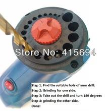 Electric Drill Bits Sharpener,Drill Grinder, grinding drill sharpener, drill sharpener for Novices.(China (Mainland))