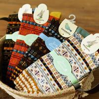 Free Shipping 4PCS thick warm autumn and winter women's wool socks jacquard national wind retro tube socks men C10209