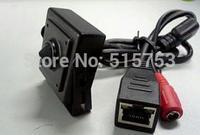 1.0 Mega Pixels 3.7mm Pinhole Lens H.264 Onvif Indoor MINI IP Camera