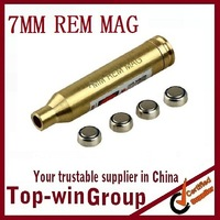 Cal. 7mm REM MAG Cartridge Bore Sighter Red Laser Sight Boresighter Colimador bala laser hunting equipment riflescope