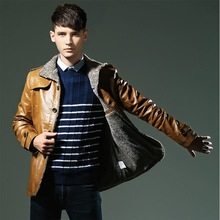 cheap leather coat