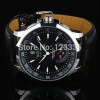 Mens Black Winner Hand Wind Mechanical Watch men's wristwatches
