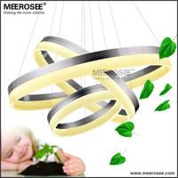 Modern LED Chandelier Lamp Ring Unique Design LED Ring Chandelier Light Indoor Lighting LED Acrylic Lights