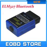 ELM327 V2.1 Mini Bluetooth ELM 327 OBDII OBD-II OBD2 Protocols Auto Diagnostic tool Free shipping