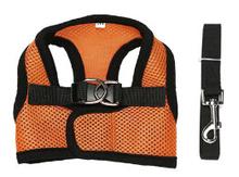 Free Shipping original colorful light orange Pet harness Dog vest harness Dog clothing Puppy summer wear