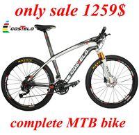 ONLY 1279$ COSTELO MASSA Carbon Fiber MTB Bike Mountain Bicycle complete 26er 29er bicicleta Carbon MTB bicycle frame