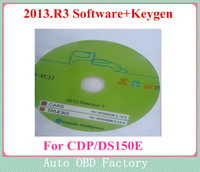 Super News !!! 2013.R3 newest Software with Keygen for tcs cdp pro plus+ and DS150 E Software No Need Activated  free shipping