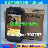 Hummer H5 Phone IP68 MTK6572 Android 4.2 3G GPS AGPS 4.0 Inch Screen Shockproof Waterproof Smart Phone