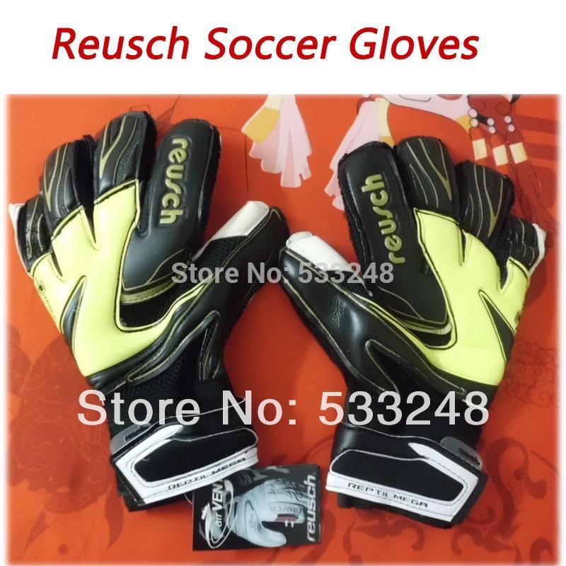 ORIGINAL Thickened Reusch 's top goalkeeper gloves football lungmoon goalkeeper gloves 8 9 10 soccer gloves(China (Mainland))