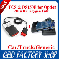 free ship 2014.R1 New realesed software  DS150E CDP TCS PRO CAR+TRUCK TCS  Pro Plus without Bluetooth cartonbox