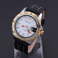 Men Sports Watches Brand CURREN 8104 men Quartz Watch Military Wristwatch Luxury Male Clock Fashion watch Army New 2014 Coupon