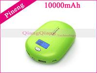 Original Pineng Mobile Power Bank PN-938 10000mAh External Battery Pack For Lenovo Smartphones/Tablet PC/Retail Box/Pink
