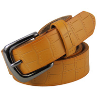 cinturon 2015 New Fashion Genuine Real Leather Belts Buckle Mens and Women Free Shipping cintos N32New Arrival!