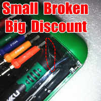 Small  Broken,Big  Discount: BAKU BK-6312S.Top Screwdriver Kits,Wide Application 12 tips in 1 Precision Screwdriver set.