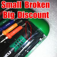 Small  Broken,Big  Discount: BAKU BK-6312S.Top Screwdriver Kits,Wide Application 12 tips in 1 Precision Screwdriver set.