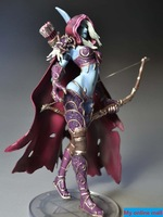 World of warcraft WOW Forsaken Queen:Sylvanas Windrunner Model Collection Action Figures Classic Toys For Boys with box MS0007-1