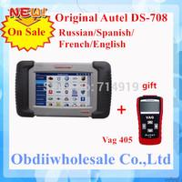 2014 Professional Autel Maxidas DS708 original Diagnostic Scanner autel ds708 maxidas Update online English DHL Free Hot On Sale