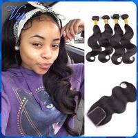 ms lula new star hair products virgin lace closure with bundles malaysian virgin hair body wave remy hair bundles with closures