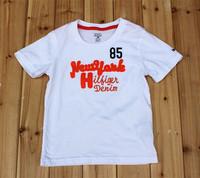 5 pcs/lot 20 Model baby & kids Brand  children t shirts US Design children unisex 2014 new boys clothes Letter boys t shirt