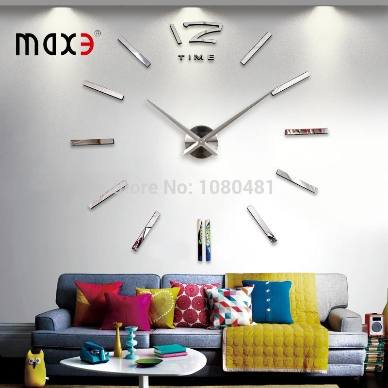 2014 new Home home decor big digital wall clock Modern design,large decorative designer wall clocks.watch wall hours,uniq