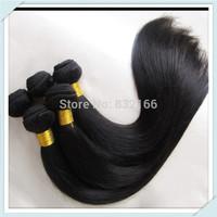 Muse Hair Bulk Price Brazilian Virgin Hair Extensions Mixed 4Bundles 3pcs 2pcs 1pc Straight Virgin Hair Weft Free Shipping
