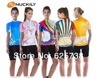 2014 New Womens Cycling Jersey Biking Clothing Rider Shirt Wear Girls Rider Shirt clothing women bicycle short-sleeve ride  set