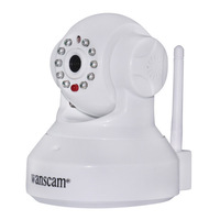 Wifi 720P High Definition Dual Audio IR Cut Pan/Tilt Night Vison Motion Detection Security Surveillance System Network IP Camera