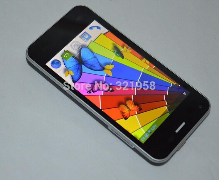 JIAYU F1 WCDMA Version 4.0 Inch Screen android phone MTK6572 dual core 512MB RAM 4GB ROM 5MP 800*480 TFT 2400mah metal frame(China (Mainland))