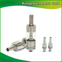 Original Kangertech Aero tank Electronic cigarette Atomizer Kanger product vaporizer dual coil Glass tank atomizer ecig head